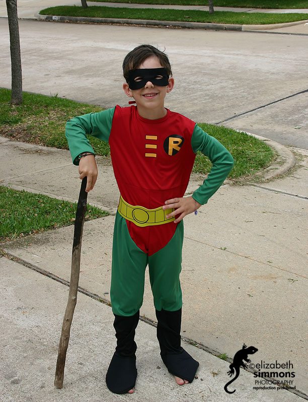 Benjamin as Robin from Teen Titans, Spring '05 copy